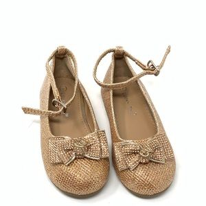 Lucky Top Shoes - Lucky top glitter shoes for toddler girl size 7
